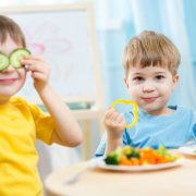 Parentip - kids eating vegetables