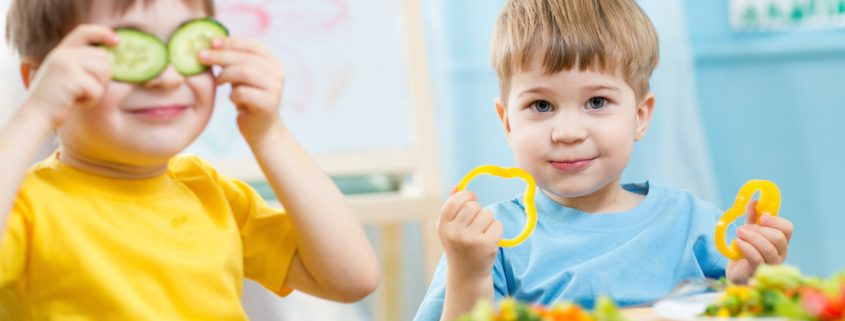 Parentip - kids eating vegetables