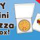 DIY Mini Pizza Box - Cool Paper Craft for Kids
