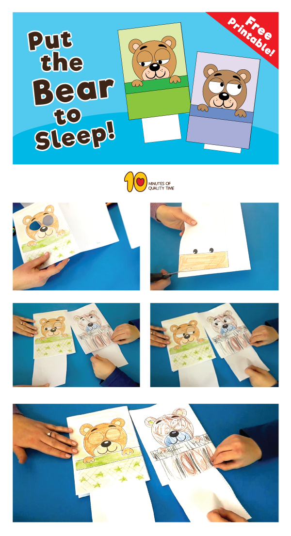 Sleeping Bear Animation Game for Kids