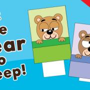 Sleeping Bear Animation Game for Kids