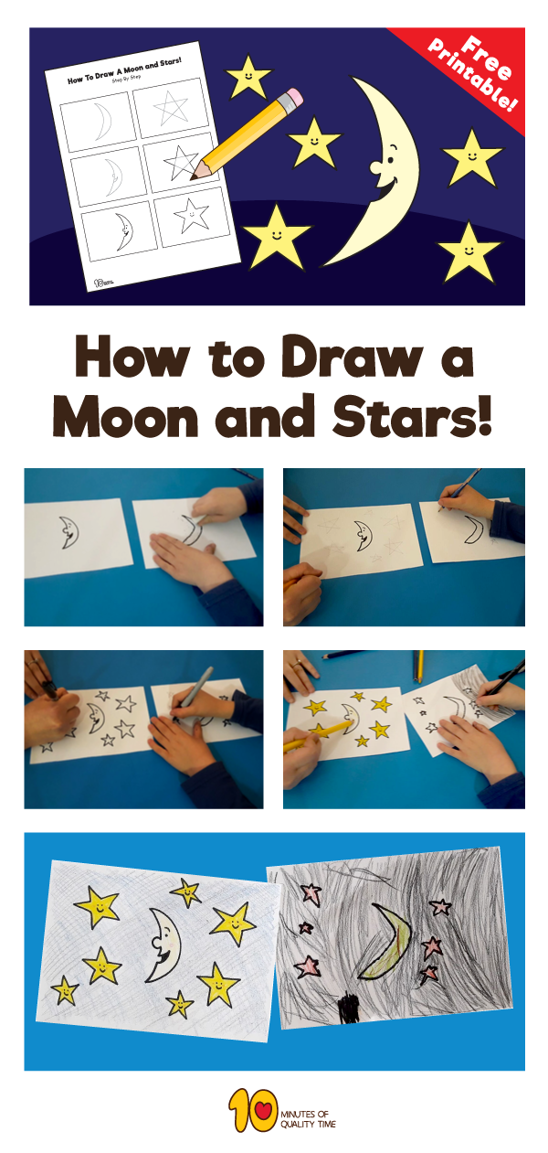 how-to-draw-stars-and-moon