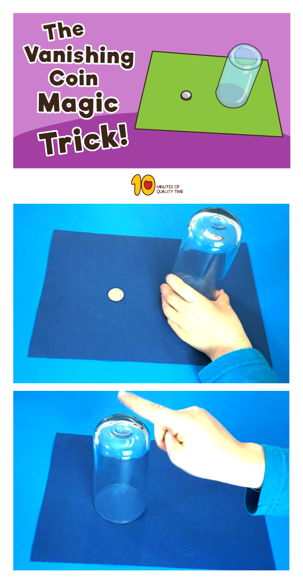 Make-a-Coin-Disappear - The Vanishing Coin Magic Trick