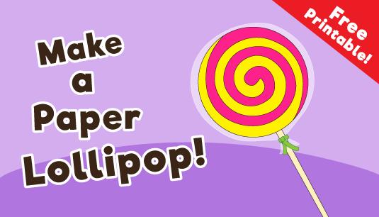 Paper-lollipop