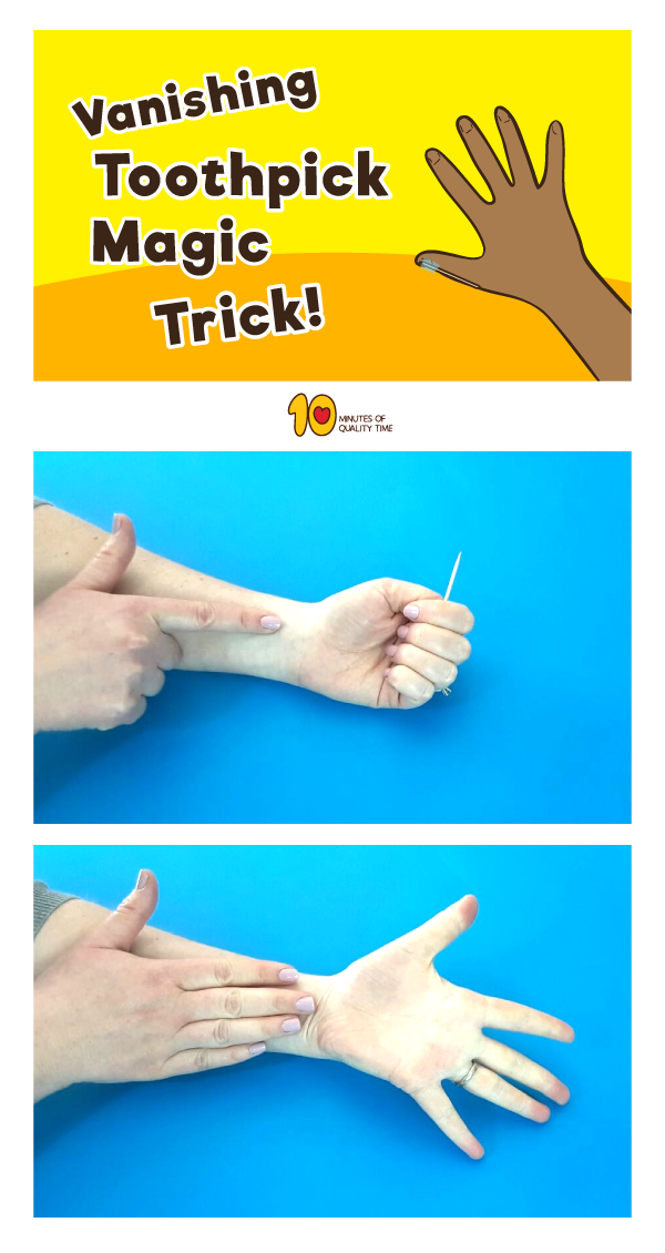 Vanishing-Toothpick-Magic-Trick