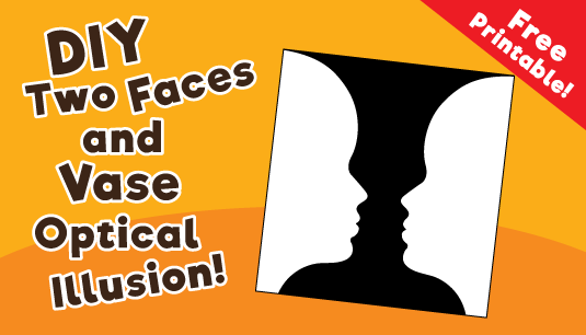 Face Or Vase Optical Illusion 10 Minutes Of Quality Time