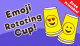 Emoji Rotating Cup Game for Kids