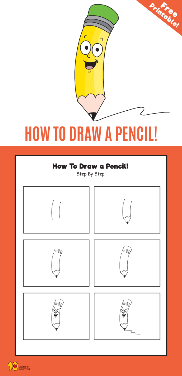 How to Draw a Pencil Step by Step