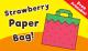 Strawberry Paper Bag