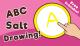 ABC Salt Drawing