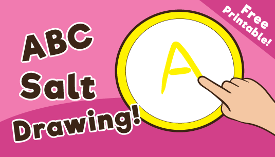 ABC Salt Drawing