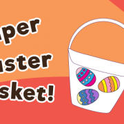 DIY Paper Easter Basket for Kids