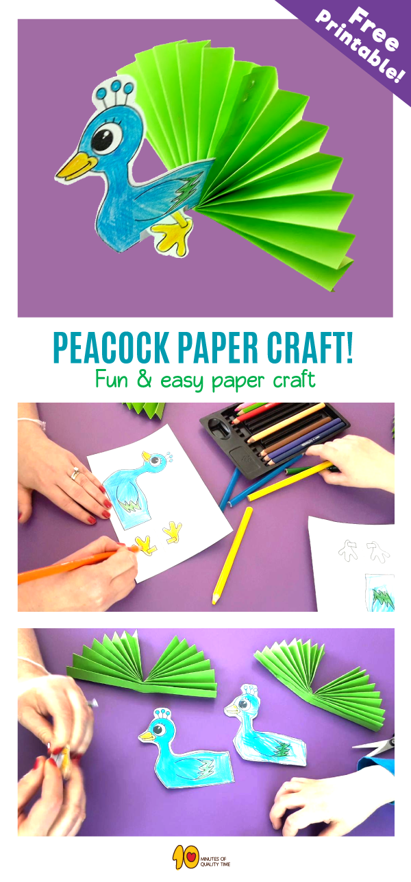 Peacock Paper Craft