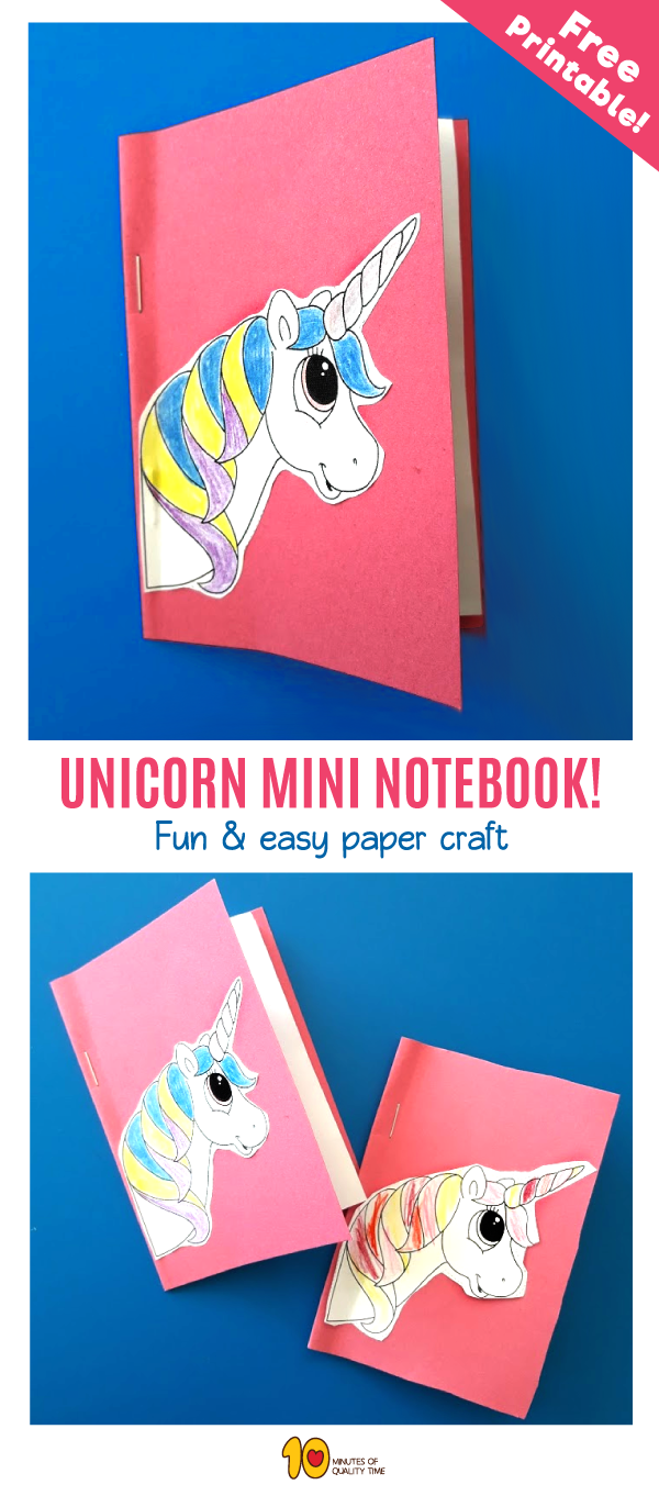 Unicorn Mini Notebook
