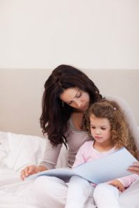 bedtime story with your child