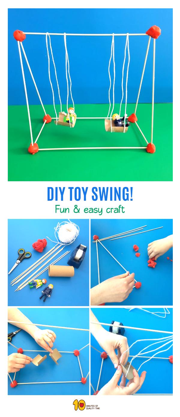 DIY Toy Swing
