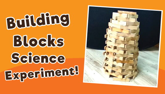 Building Blocks Science Experiment