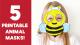 5-Paper-Animal-Masks
