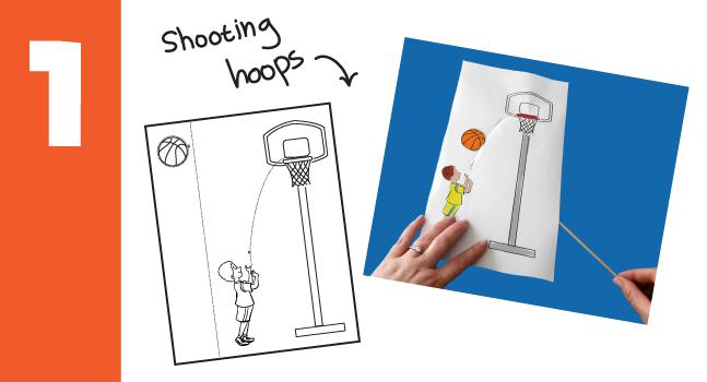 basketball crafts