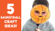 5 Basketball Crafts - Sports Crafts for Kids