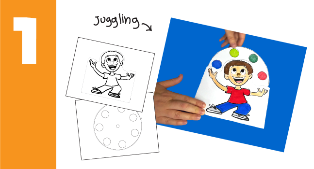 Boy Juggling Craft