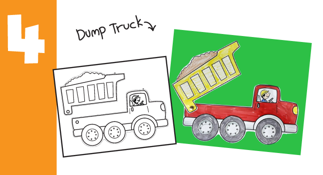 Dump Truck Craft for Kids