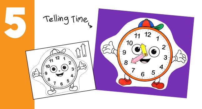 Craft to Teach Kids Time