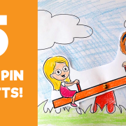 Split Pin Crafts for Kids