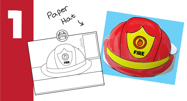 fireman-hat-craft