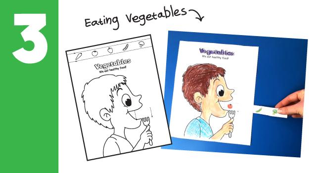 5 Vegetable Crafts For Kids Great Vegetable Craft Ideas 10